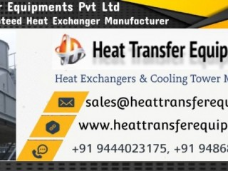 Cooling Towers & Heat Exchanger -Heat Transfer Equipments