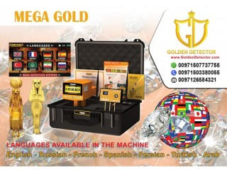 Metal and diamond detector MEGA GOLD