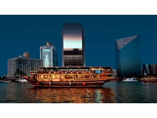 Dhow Cruise in Deira with 5 Star Buffet @ 125 AED