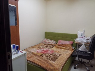 Furnished Room,Partitions Available for Family 3min walk from burjuman Metro Station