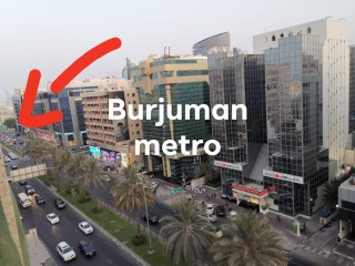 Cheapest Bed Space in BUR DUBAI (ALL IN) for Male/Female near Metro Station