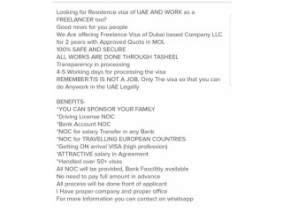 Freelancer Visa