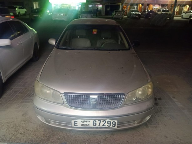 2005-model-nissan-sunny-ex-saloon-car-for-sale-dubai-big-0