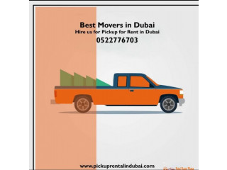 Pickup For Rent In Dubai 052 2776703 Mr Imran