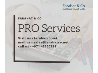 Outsource your PRO services in Dubai