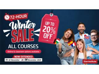 Eton Institute's Winter Sale Dubai