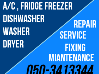 AC Fridge Washer Dryer Repairing Works in Dubai