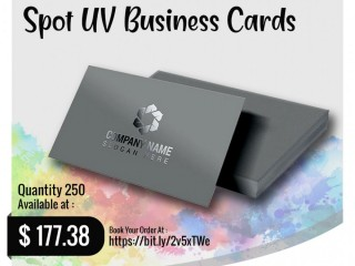 Uthara Print Australia - Spot UV Business Cards