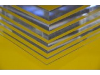 Clear Perspex sheets