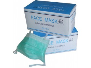 Wholesale Dentist 3Ply Earloop Disposable Face Mask Surgical Mask 3Ply Nonw