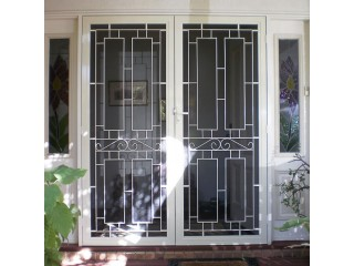Buy Custom Grilles & Diamond Grille Security Doors in Geelong