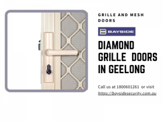 Buy Diamond Grille Security Doors in Geelong | Grille and Mesh Doors Melbourne