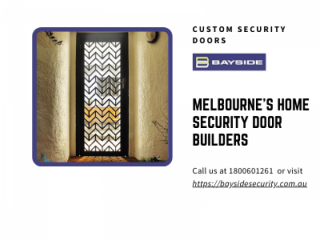 Melbournes Home Security Door Builders Crime Safe Doors