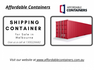 Shipping Container for Sale in Melbourne - Affordable Containers