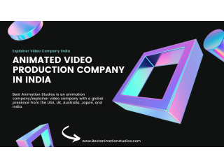 Animation Video Production Company | Top Animation Studio in India