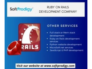 Ruby on Rails Development Company - Hire ror developers now!