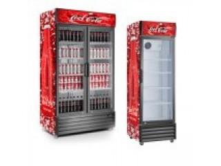 Coca Cola Upright Display Chiller Soda Upright Cooler Manufacturer