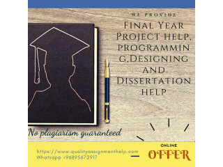 Quality help on ONLINE Final Year Project Help, Assignment Help, Game development and Programming help