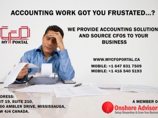 WE PROVIDE ACCOUNTING SOLUTIONS AND SOURCE CFOs TO YOUR BUSINESS