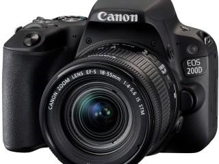 Canon EOS 200D Digitale Spiegelreflexkamera Gunstig