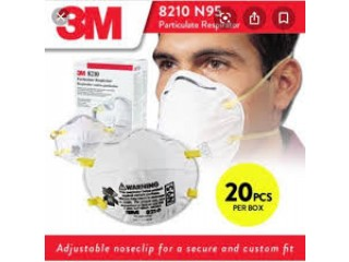 3M N95 Respirator face mask (20-Pack)