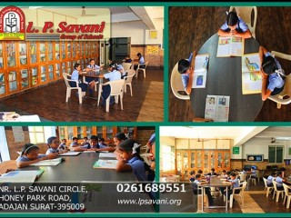 School in Palnpor | Best International School In Surat - LPSavani