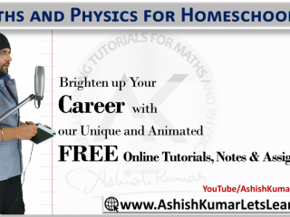 Maths and Physics for Homeschoolers