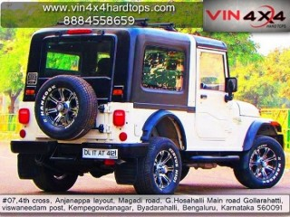 Mahindra Thar Modifications - Vin 4x4 Hardtops