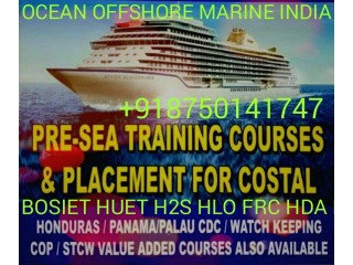 HLO FRC STCW HUET BOSIET Basic Offshore Safety Induction & Emergency Training