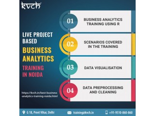Best Business Analytics Training And Certification In Noida @ KVCH
