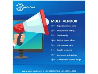 Webcart - Multi-Vendor E-Commerce Solution in India