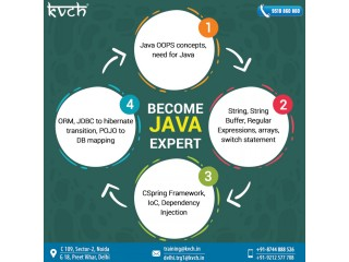 Java Industrial Training by KVCH | 6 Months Industrial Training in JAVA