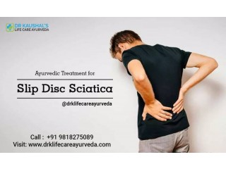 Slip Disc Treatment without Surgery in Delhi | Drk Life Care Ayurveda