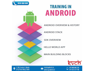 Get 6 Months Android Training | Live Projects and Certification