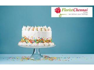 Midnight cake delivery in Chennai - Florist Chennai