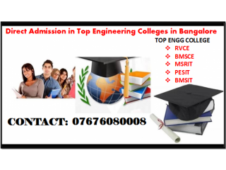 Management Quota Fees Engineering in Bangalore