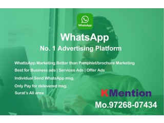 Digital WhatsApp Marketing in Surat By KMention