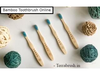 Bamboo tooth brush India Terrabrush