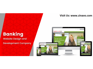Banking Website Design and Development Company