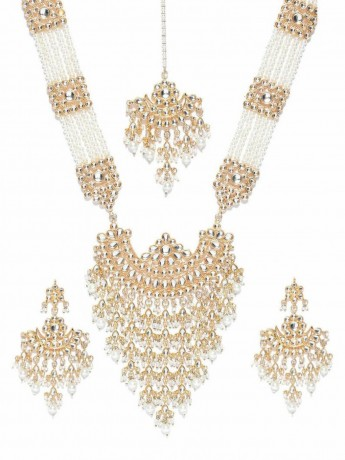 indian-bollywood-gold-plated-kundan-w-pearls-glass-raanihaar-necklace-big-2