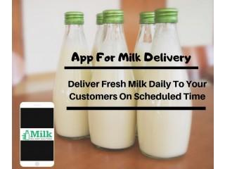 Milk Delivery App Development Services