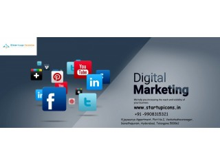 Best Digital Marketing and Seo Service in Hyderabad - Startup Icons
