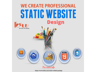 Choose a Developers from FODUU for Design Static Website Design