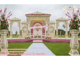 Grand Indian Wedding Mandaps Manufactured By DST EXPORTS
