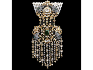South indian pearl jewellery designs