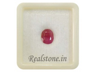 Realstone certified gemstones buy natural Ruby or manik @ Rajpura