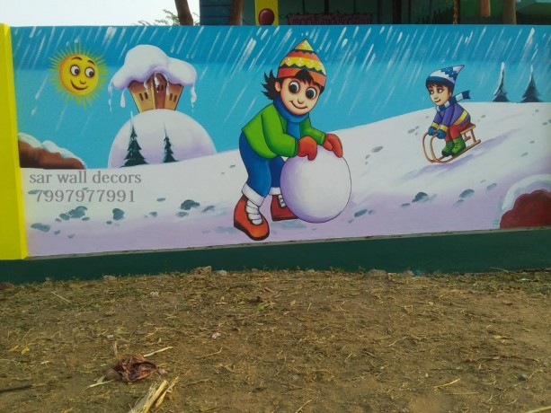 class-room-wall-painting-in-hyderabad-big-0