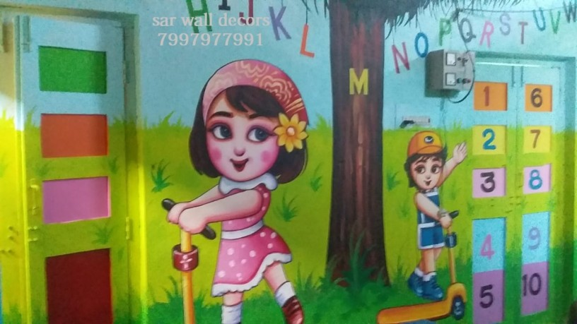 class-room-wall-painting-in-hyderabad-big-1