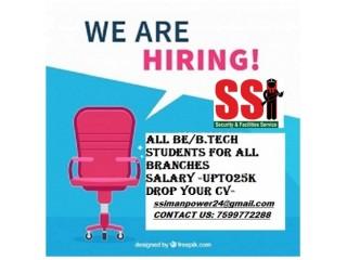 Bareilly Fresher Job B.E / B.Tech 7599772288