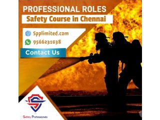 Fire and Safety Course in Chennai from Spplimited